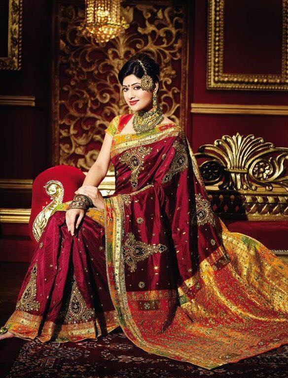 Rajwadi Wedding saree