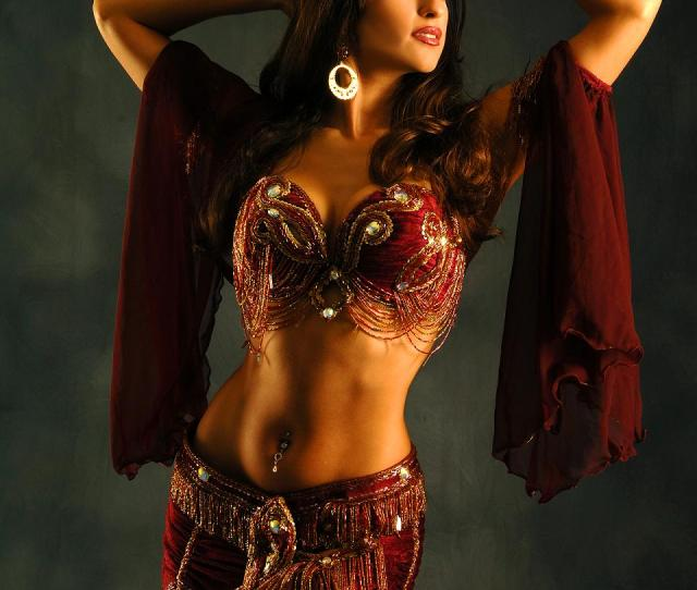 Her Costume A Belly Dancing Outfit