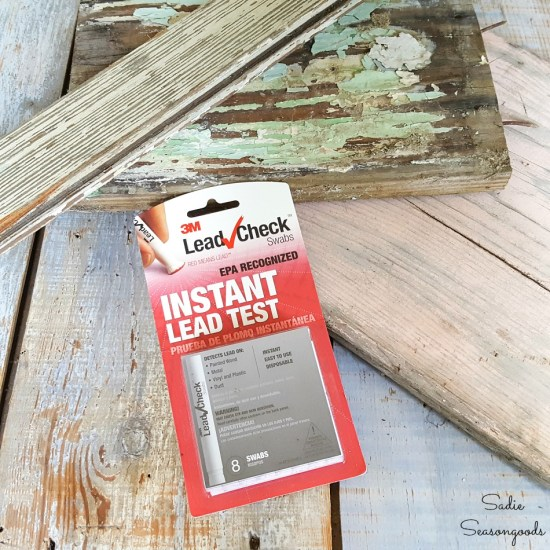 3M Lead Check for testing for lead paint