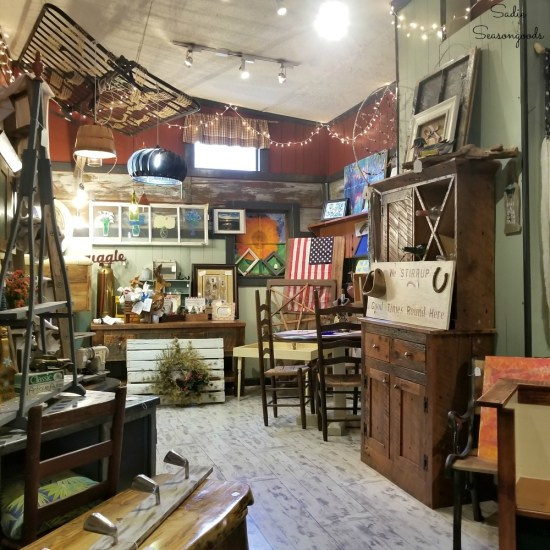 Downtown Blue Ridge GA and Shopping in Blue Ridge GA at Ain't What it Used to be for Upcycling and Vintage by Sadie Seasongoods