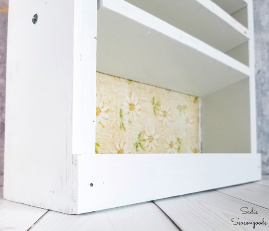 DIY craft storage for acrylic craft paint