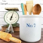 Faux Painting A Stoneware Crock For French Country Kitchen Decor