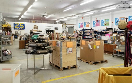 The Scrap Exchange is a durham thrift store that specializes in craft supplies and art materials by Sadie Seasongoods