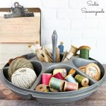 Hardware Organizer by Upcycling a Tupperware Serving Center