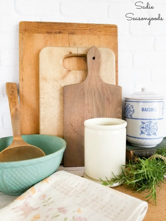 Thrift the Look for French farmhouse decor