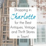 Shopping in Charlotte, NC: Best Antiques, Vintage, Architectural Salvage, and Thrift Stores