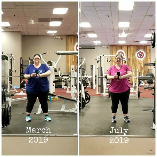 Losing 12 pounds with portion control and clean eating and working out at Crush Fitness in Greenville SC