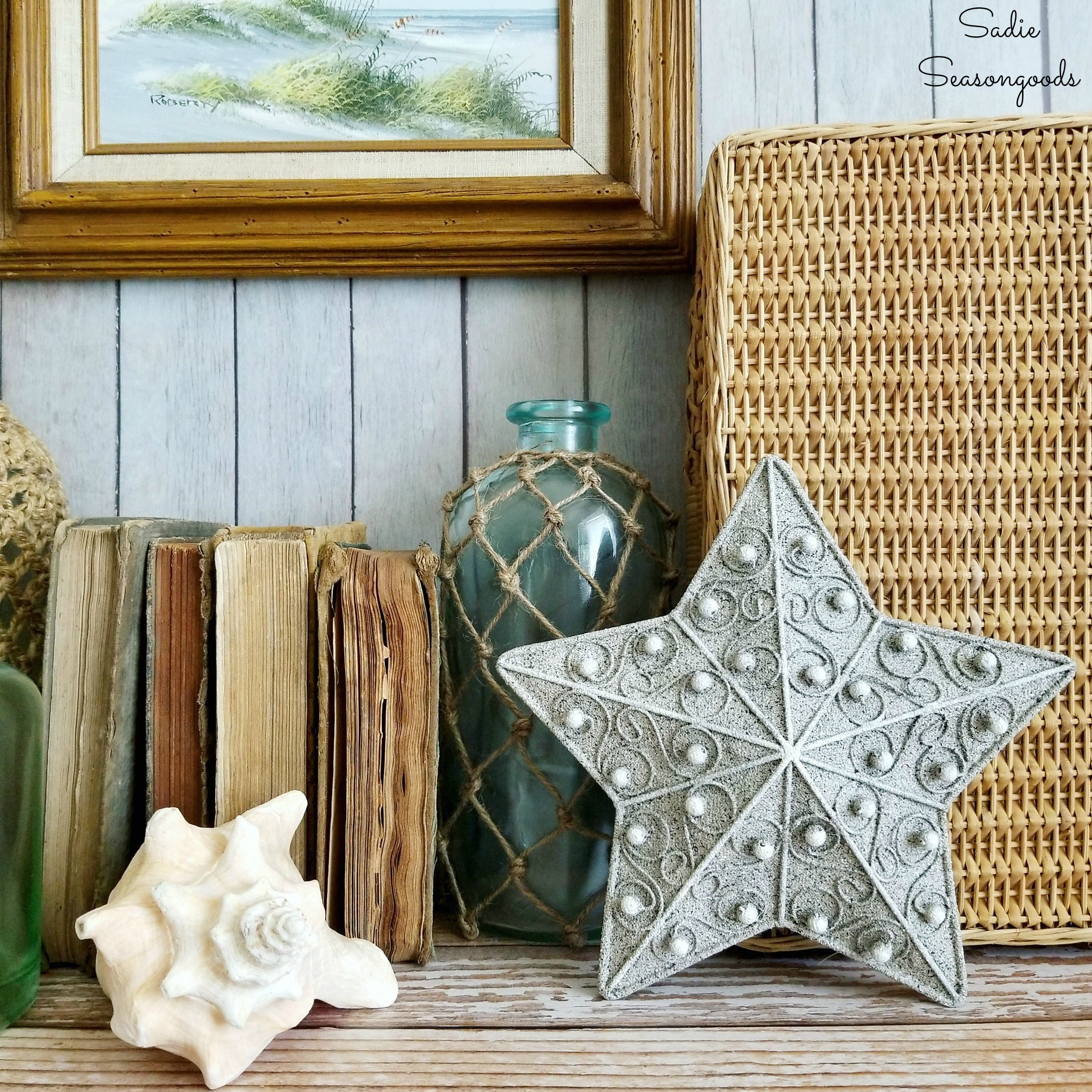 Starfish Decor For A Beach Cottage Coastal Cottage From A