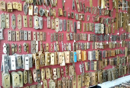 Shopping for architectural salvage on a junkin journey or junking road trip