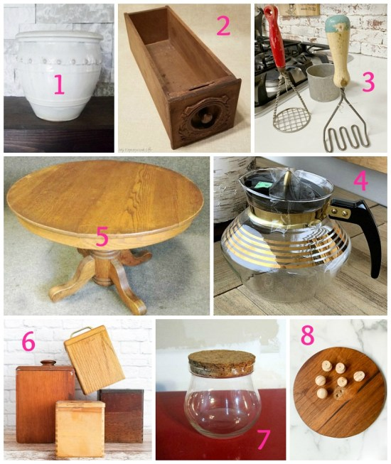 Upcycling ideas and thrift store makeovers from the best upcycling bloggers