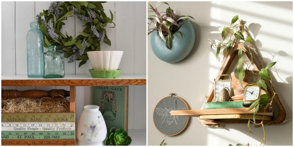 Vintage Garden and Botanical Home Decor by the Creative Vintage Darlings