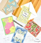 DIY Greeting Cards from File Folders