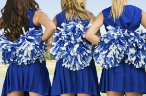 CheerleadersBlue