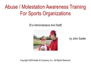 Abuse/Molestation Awareness in Youth Sports