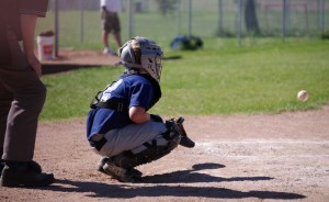 Baseball catcher injuries