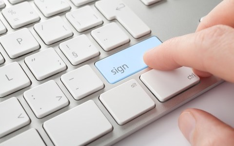 E-signature on Waivers and Releases