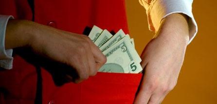Volunteer embezzlement