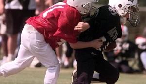 Youth tackle football injuries