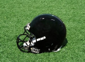 Football helmets and concussions