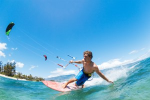 Sports insurance for kiteboarding and kitesurfing events
