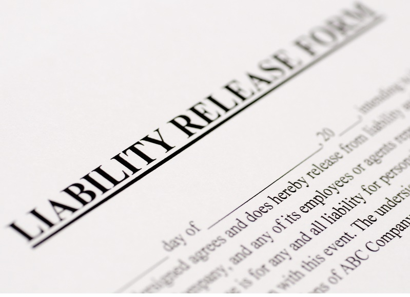 Are WaiverReleases Worth the Paper on Which Theyre Written – Free Printable Liability Release Form