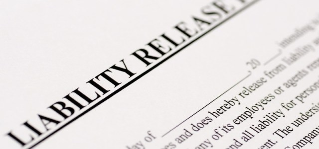 Liability waivers and releases