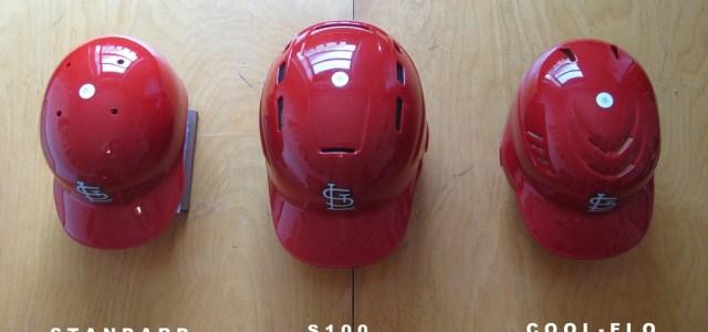 Oversized baseball helmets