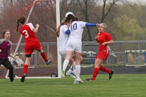 Concusison rates in girls soccer