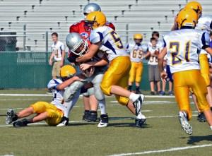 Youth tackle football insurance