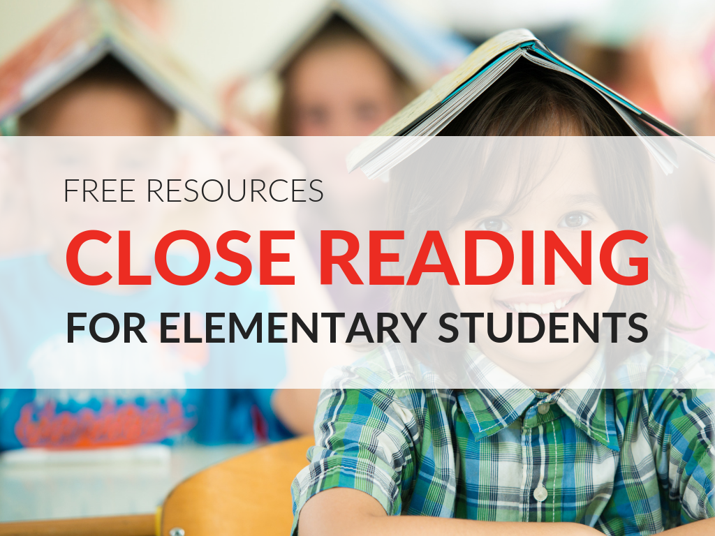 Close Reading Worksheets For Elementary Students 8