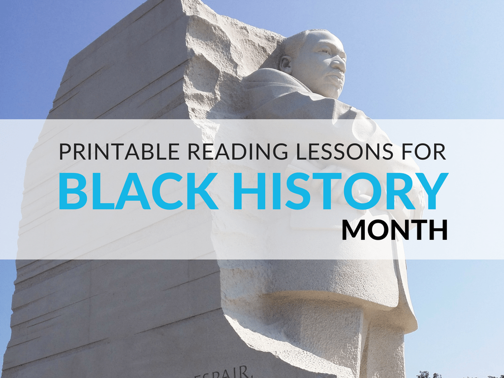Printable Reading Activities For Black History Month