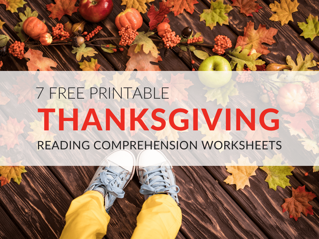 Thanksgiving Reading Comprehension Worksheets For Grades 1