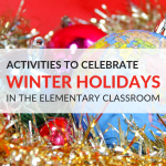 Winter Holidays Around The World Lesson Plans For Elementary Students