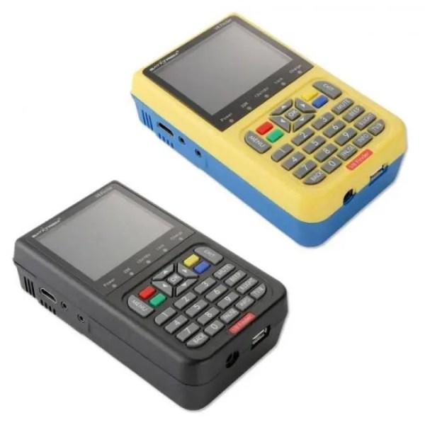 FREE SHIPPING Satxtrem V8 Finder Satellite Finder DVB-S2 Receiver Digital Signal Meter HD TV Antenna Outdoor Signal Detector Adjust Sat Dish [tag]