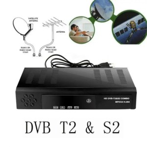 FREE SHIPPING Free To Air Digital Satellite receiver HD DVB T2+S2 TV Tuner [tag]
