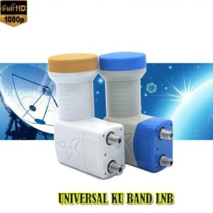 FREE SHIPPING Full HD DIGITAL KU-BAND Universal twin Satellite LNB discount