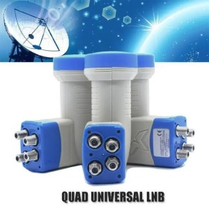 FREE SHIPPING Universal Quad LNB High Quality Full HD Digital Universal Ku Band discount