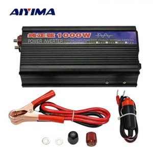 FREE SHIPPING AIYIMA 1000W Pure Sine Wave Inverter DC12V/24V To AC220V 50HZ Power Converter Booster For Car Inverter Household DIY 12/24V