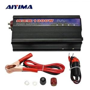 FREE SHIPPING AIYIMA 1000W Pure Sine Wave Inverter DC12V/24V To AC220V 50HZ Power Converter Booster For Car Inverter Household DIY 12/24V