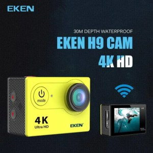 Cameras Original EKEN H9R / H9 Ultra HD 4K Action Camera 30m waterproof 2.0′ Screen 1080p sport Camera go extreme pro cam 1080p