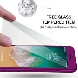 Phone Cases 360 Full Protective For iPhone Models Full Cover Phone Cases With Glass 360