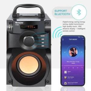 Hear Bluetooth Wireless Stereo Subwoofer Heavy Bass Speaker 3D