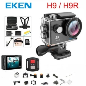 Car & Motorbike EKEN H9 / H9R Action Ultra HD 4K WiFi 1080P/60fps 2.0 LCD 170D lens Helmet Cam waterproof pro sports camera 1080p