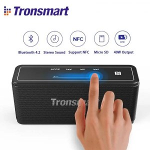 Hear Tronsmart Bluetooth Wireless 3D Digital Sound TWS 40W Portable Speaker 3D