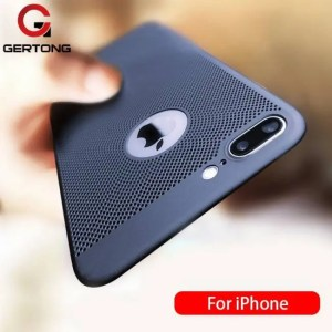 Phone Cases Ultra Slim Phone Case For iPhone 7 iPhone8 Plus Hollow Heat Dissipation Cases 7