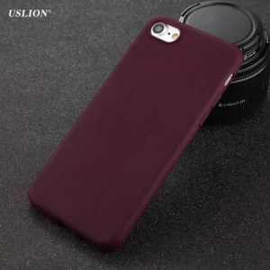 Phone Cases Solid Color Ultrathin Soft TPU Phone Cases For iPhone7 iPhone8 iPhoneX Plus  iPhoneXS Max Cases