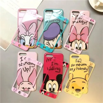 FREE SHIPPING Glass Phone Case for IPhoneX IPhoneXR XS Iphone7 Iphone8 Cover Case
