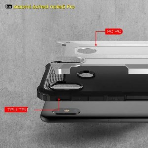 Phone Cases Case PocoPhone Armor Cover For Xiaomi RedmiNote5 Pro Redmi Note6 Note5 6A 8Lite 2