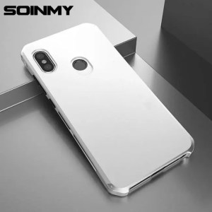 Phone Cases Case Aluminum Metal Frame Shockproof Armor Phone Accessories For Xiaomi Redmi Note5 Xiaomi Redmi Note6pro Accessories