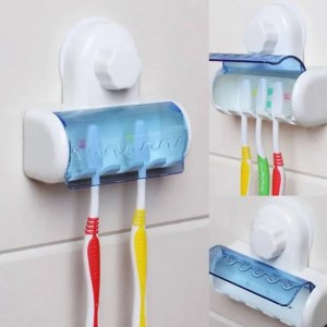 FREE SHIPPING Toothbrush Spinbrush Plastic Suction Wall Mounted For Home Bathroom Accessories Accessories